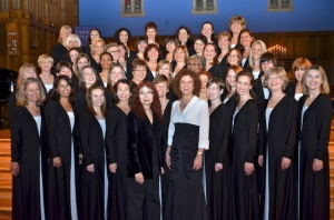The women of Cantores Celestes, in all their splendour