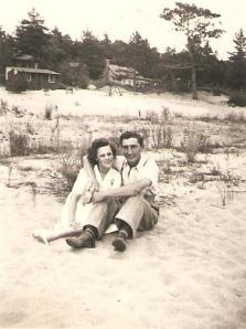 Mémère et Pépère, sur les plages de la Baie Georgienne.