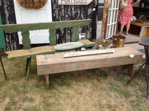 These benches were $40 and $60 at Dead People's Stuff in Bloomfield, PEC