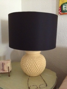 My mom scored two of these lamps (sans shades) at a Midland garage sale for $5