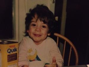 Me, age four.