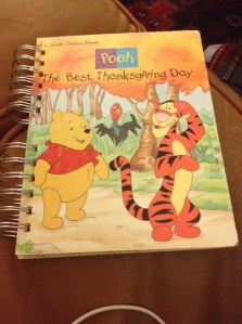 Winnie the Pooh children's book cover