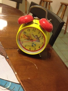 My Curious George alarm clock