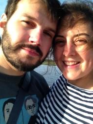 Us at the marsh last weekend