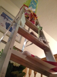 """What mom has called my """"ladder of life"""" (full of gifts!)"""