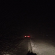 Downside of snow 3: driving