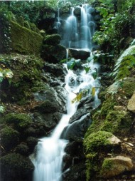 Here's the waterfall.