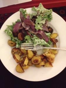 Kale salad - yum!