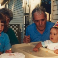 Alicia's first birthday. Aren't we cute?