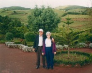 In his homeland, the Açores. His last visit there as a healthy man.