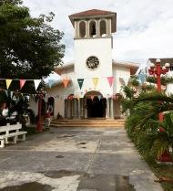 A little church in Puerto Morelos