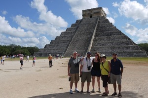 Some of the gang that travelled to Mexico with us. So cool!